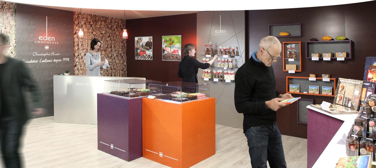 La Boutique Eden-Chocolats