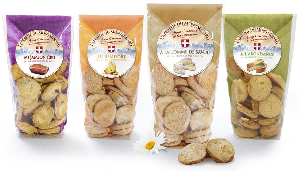 Biscuits apéritifs du Montagnard