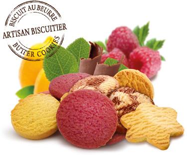 assortiment de biscuits des alpes par Eden Chocolats 73800 les Marches Porte de Savoie